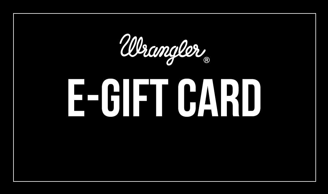 Wrangler E-Gift Card